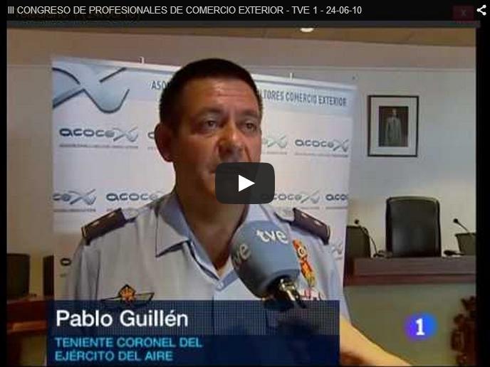 III CONGRESO DE PROFESIONALES DE COMERCIO EXTERIOR – TVE 1 – 24-06-10