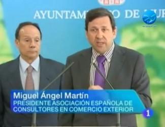 Presentación del Program Exporta Fácil Acocex ATA Ayuntamiento de Murcia