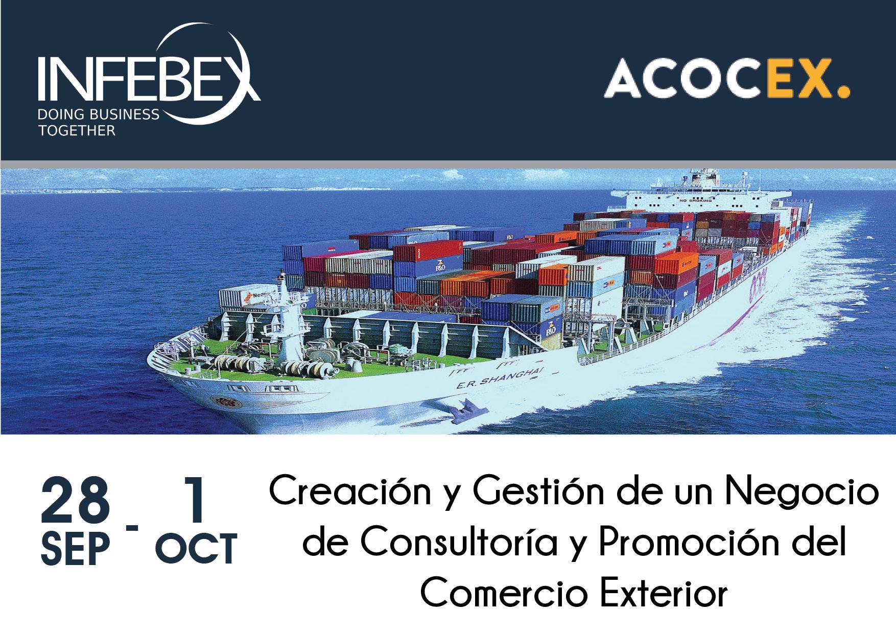Creación y Gestión de un Negocio de Consultoría y Promoción del Comercio Exterior - Infebex - Acocex